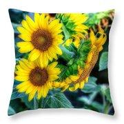Flower #39 Throw Pillow