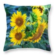 Flower #40 Throw Pillow