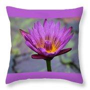 Flower 5 Throw Pillow
