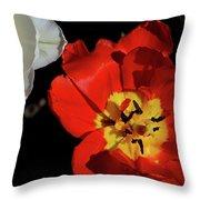 Flower 55 Throw Pillow