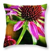 Flower 70f Throw Pillow