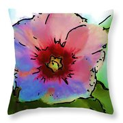 Flower 8-15-09 Throw Pillow