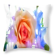 Flower 9296 Throw Pillow