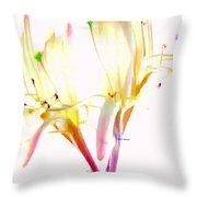 Flower 9315 Throw Pillow