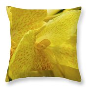 Flower, A Soul Blossoming In Nature Throw Pillow