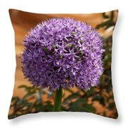 Flower At Chelsea Throw Pillow