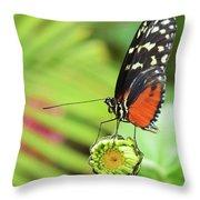 Flower Balance Throw Pillow