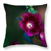 Flower Bloom Throw Pillow