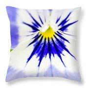 Flower Blossom 1 Throw Pillow