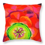 Flower Blossom Throw Pillow