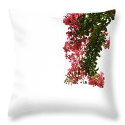 Flower Branch Throw Pillow