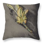 Flower, Carel Adolph Lion Cachet, 1874 - 1945 Throw Pillow