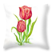 Flower Collection2 Throw Pillow