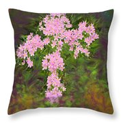 Flower Cross Fancy Throw Pillow