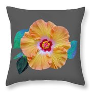 Flower Delight Throw Pillow
