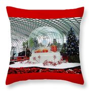Flower Dome 2 Throw Pillow