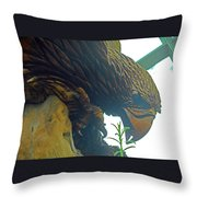 Flower Dome 27 Throw Pillow