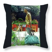 Flower Dome 31 Throw Pillow