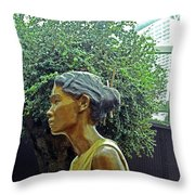 Flower Dome 33 Throw Pillow