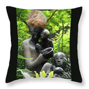 Flower Dome 36 Throw Pillow