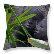 Flower Dome 37 Throw Pillow