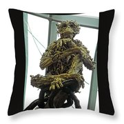 Flower Dome 43 Throw Pillow