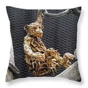 Flower Dome 44 Throw Pillow
