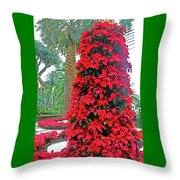 Flower Dome 46 Throw Pillow
