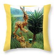 Flower Dome 8 Throw Pillow