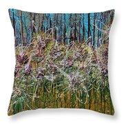 Flower Energy Throw Pillow