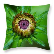 Flower Eye Throw Pillow