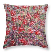 Flower Feelings. Throw Pillow