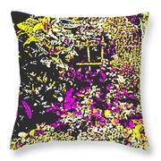 Flower Flood Throw Pillow