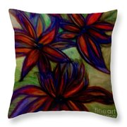Flower Flower Throw Pillow