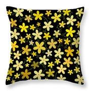 Flower Folly Throw Pillow