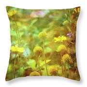 Flower Garden 1310 Idp_2 Throw Pillow