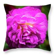 Flower In A Garden Throw Pillow