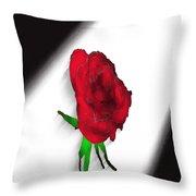Flower No.4 Throw Pillow