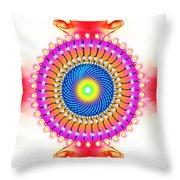Flower Of Bliss Throw Pillow