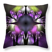 Flower Of Hope Throw Pillow
