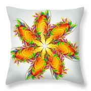 Flower Of Joy Throw Pillow