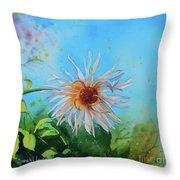 Flower Of Love  Throw Pillow