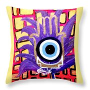 Flower Of Protection Throw Pillow