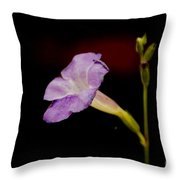 Flower On The Vine Throw Pillow
