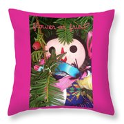 Flower Or Fruit Throw Pillow