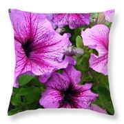 Flower Overload Throw Pillow