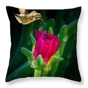 Flower-p Throw Pillow