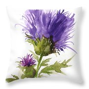 Flower Painting 1 Throw Pillow