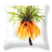 Flower Painting 2 Throw Pillow