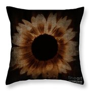 Flower Painting Digitally Throw Pillow